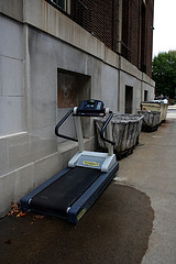 treadmill outside