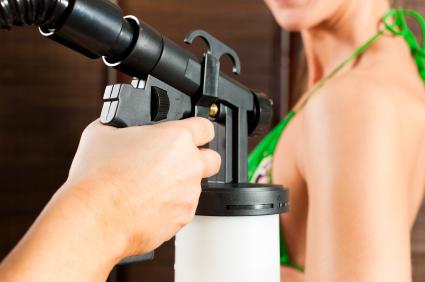 spray tan