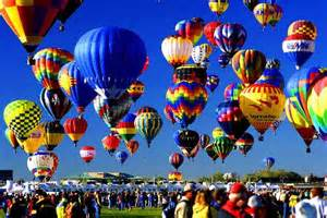 The Hot Air Balloon Fest is! actually in Albuquerque, and was totally amazing