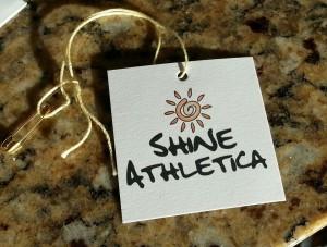 shine athletica tag