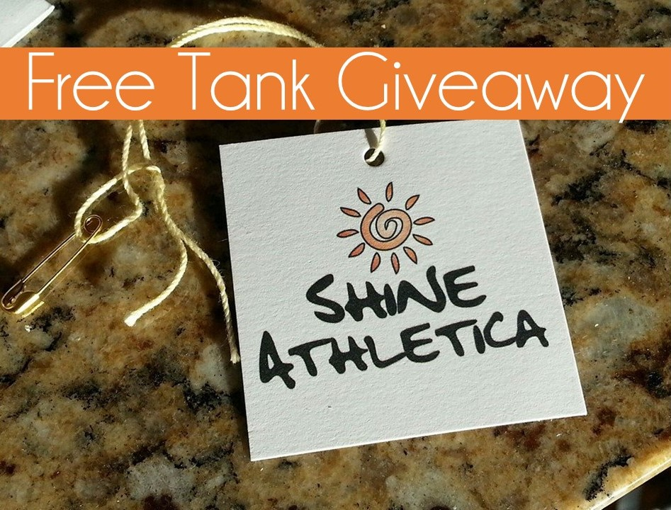 Shineathletica tank giveaway