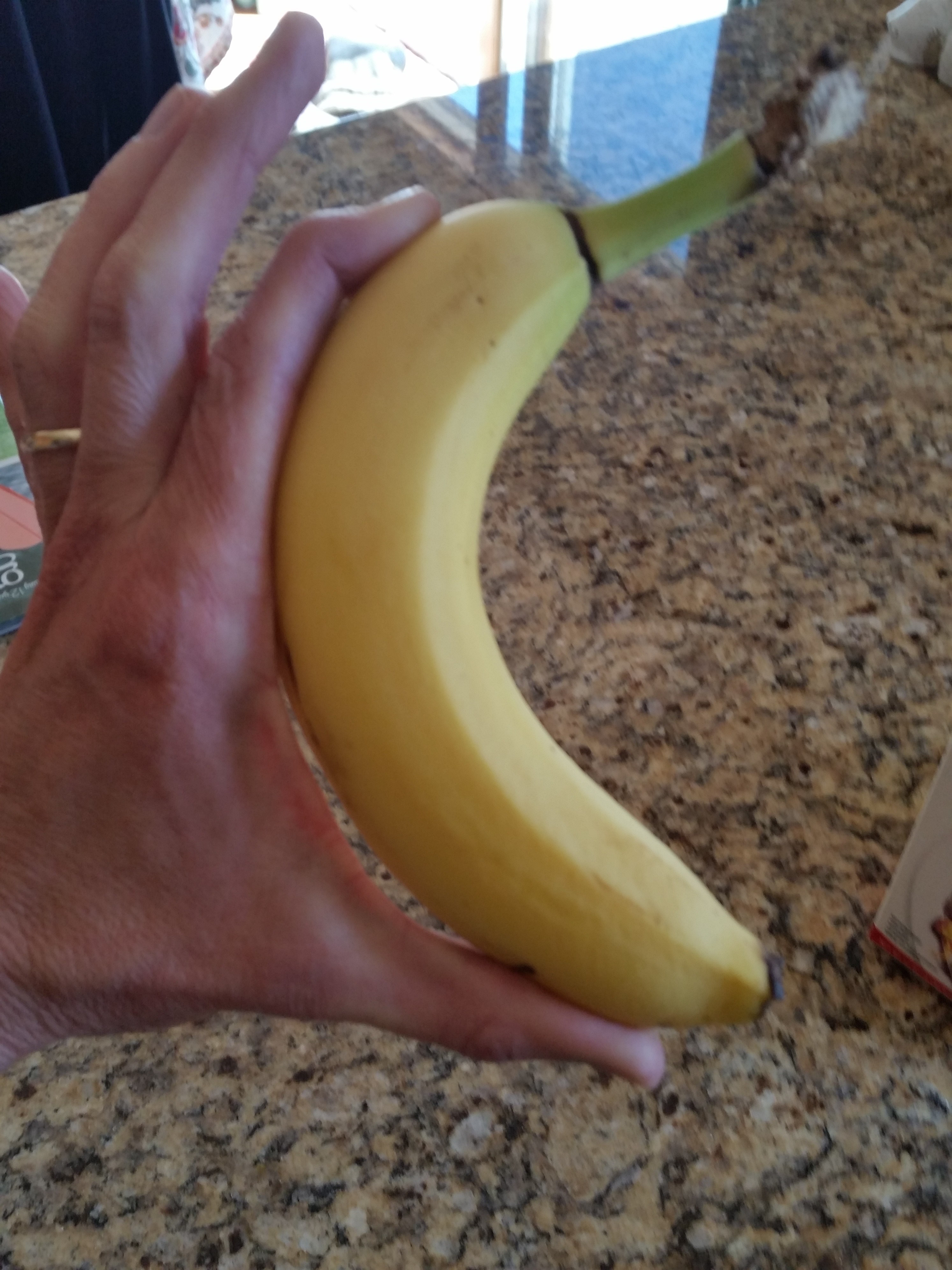 A good way to measure the right banana for you